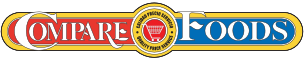 A theme logo of Compare Foods Clayton